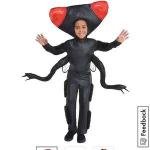 Child's Big Fly plush head costume